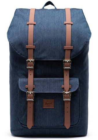 Herschel Laptoprucksack »Little America, Indigo Denim Crosshatch« kaufen