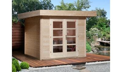 WEKA : Gartenhaus »Chill - Out Gr.1«, BxT: 356x284 cm, inkl. Fußboden kaufen