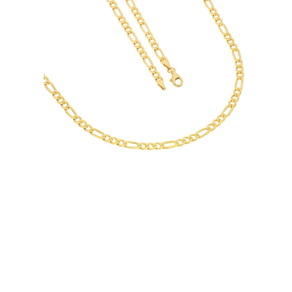Firetti Kette ohne Anhänger »gelbvergoldet, 6-fach diamantiert«