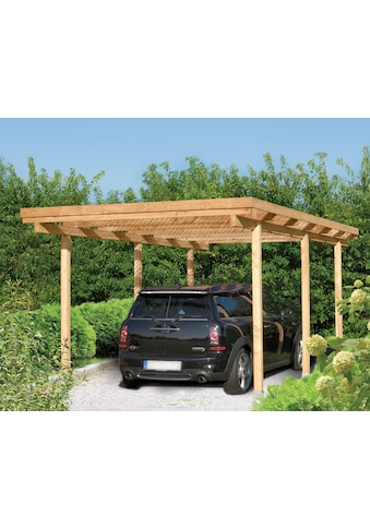 Kiehn - Holz Einzelcarport »Bamberg«, BxT: 304 x 510 cm kaufen
