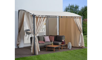 KONIFERA Anbaupavillon »Burano«, BxLxH: 300x250x250/205 cm kaufen
