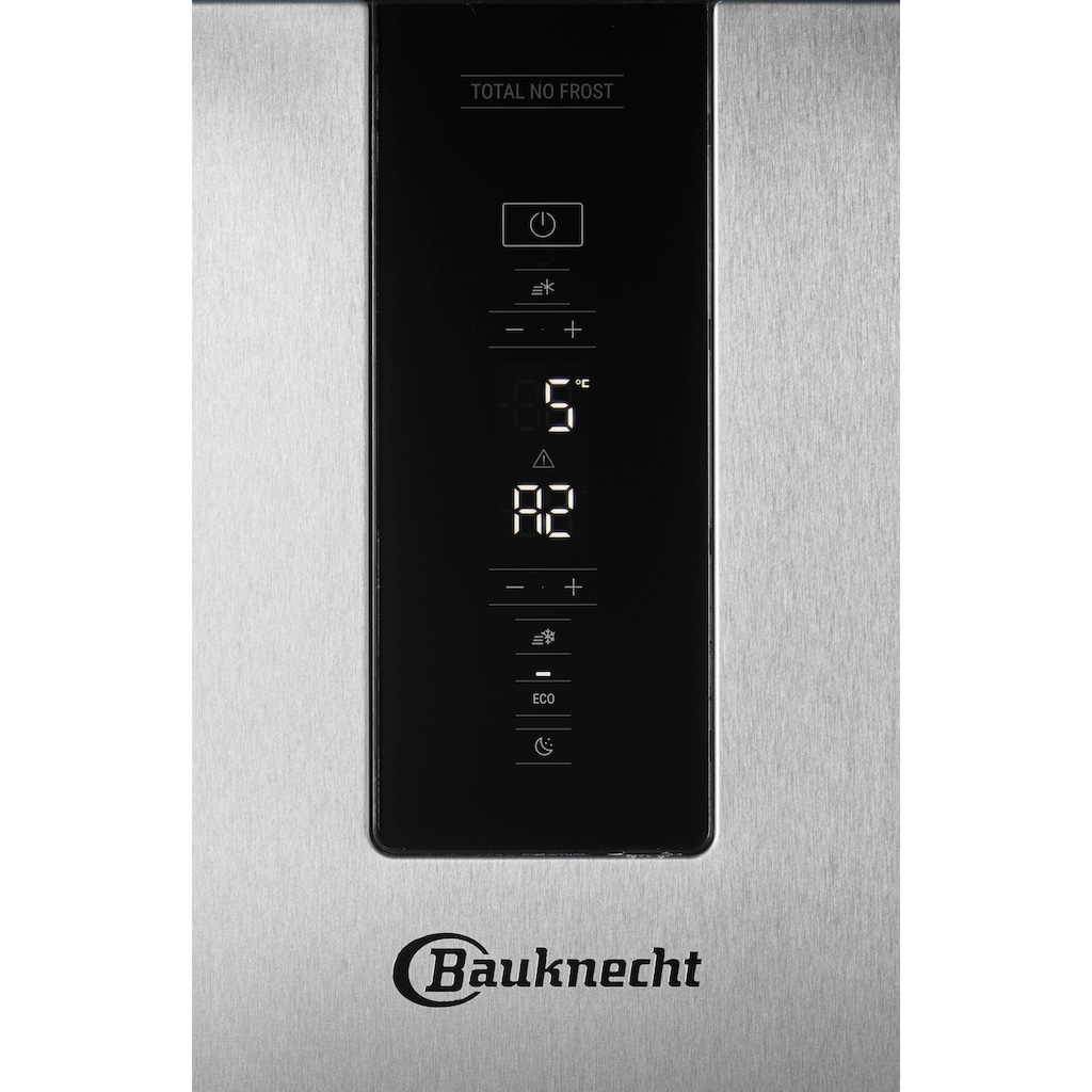 BAUKNECHT Kühl-/Gefrierkombination »KGN ECO 201 A3+ IN«, KGN ECO 201 A3+ IN, 201 cm hoch, 59,6 cm breit, 4 Jahre Herstellergarantie