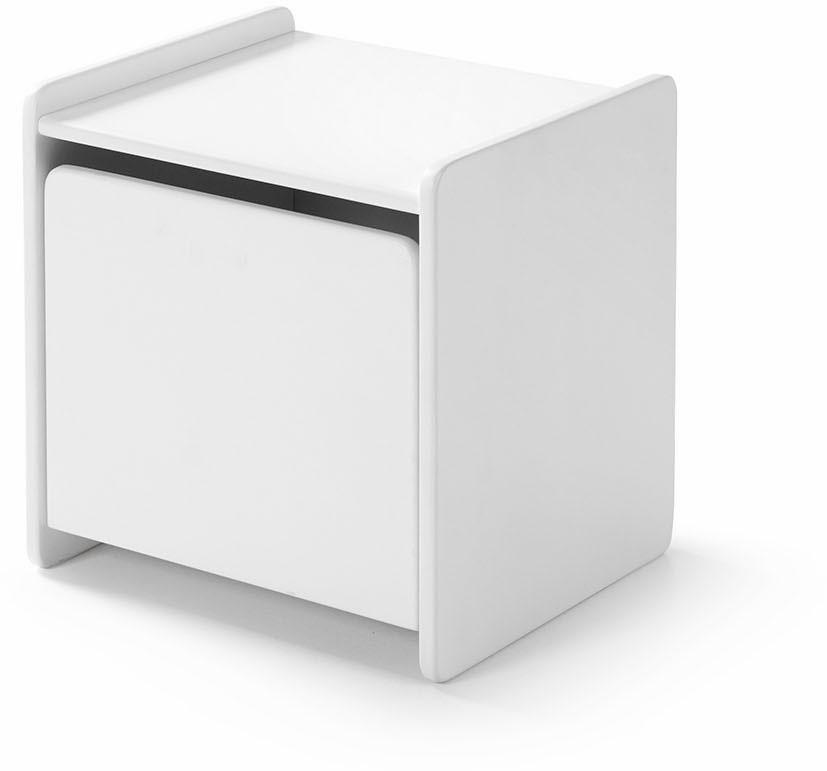 Vipack Nachttisch Kiddy MDF-Oberfläche | Schlafzimmer > Nachttische | Weiß | Vipack