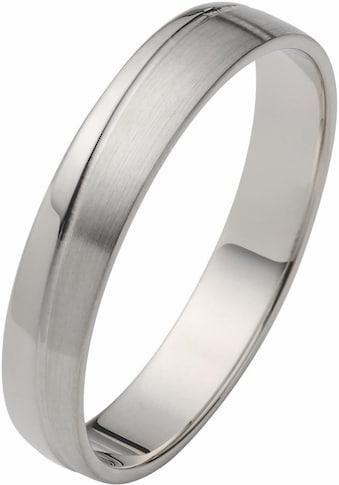 Firetti Trauring »glanz, matt, Diamantschnitt, 4,0 mm breit«, Made in Germany,... kaufen