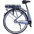 HAWK Bikes E-Bike »HAWK eCity Wave BAFANG«, 7 Gang, Shimano, Nexus 7G, Frontmotor 250 W