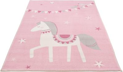 LUXOR living Kinderteppich »Pferd Lotti«, rechteckig, 12 mm Höhe, Spielteppich,... kaufen
