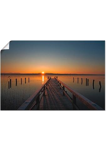 Artland Wandbild »Traumhafter Morgen am Ratzeburger See«, Sonnenaufgang & -untergang,... kaufen