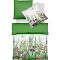 fleuresse Wendebettwäsche »Bed Art S 114056«, Flowers & Butterflies