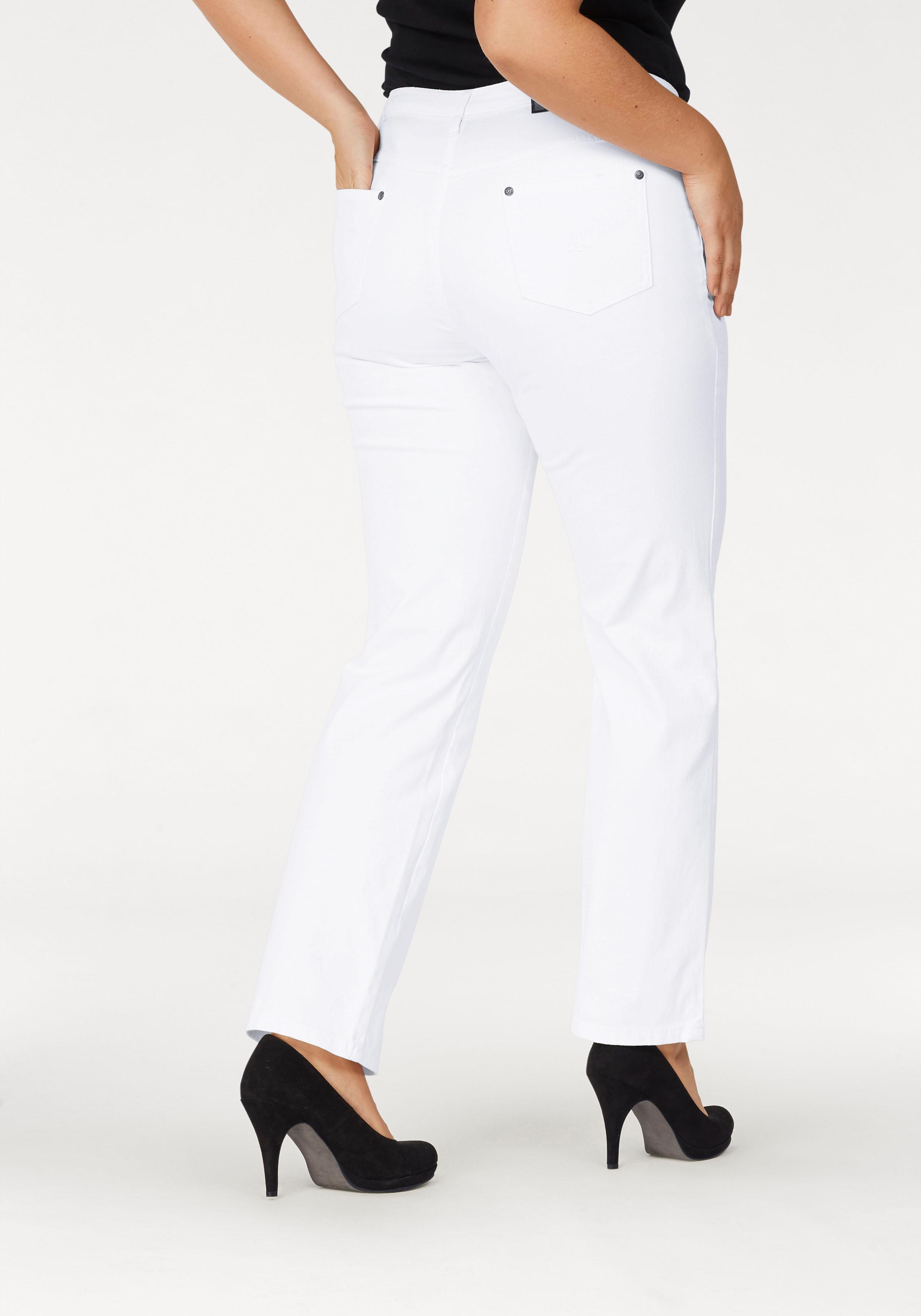 Arizona Gerade Jeans Comfort-Fit   Bekleidung > Jeans > Gerade Jeans   Weiß   Arizona