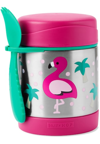 Skip Hop Thermobehälter »Zoo Edelstahl Warmhaltebehälter Flamingo«, (2 tlg.), mit Multibesteck kaufen