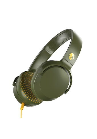 Skullcandy Headset »RIFF ON - EAR W/TAP TECH Moss/Olive/Yellow« kaufen