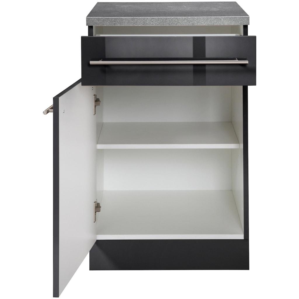 wiho Küchen Unterschrank »Chicago«, 60 cm breit, 1 Schubkasten und 1 Tür