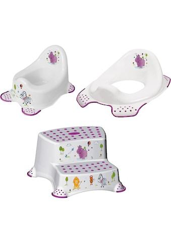 keeeper Töpfchen »Hippo, weiß«, Kinderpflege-Set - Töpfchen, Toilettensitz und... kaufen