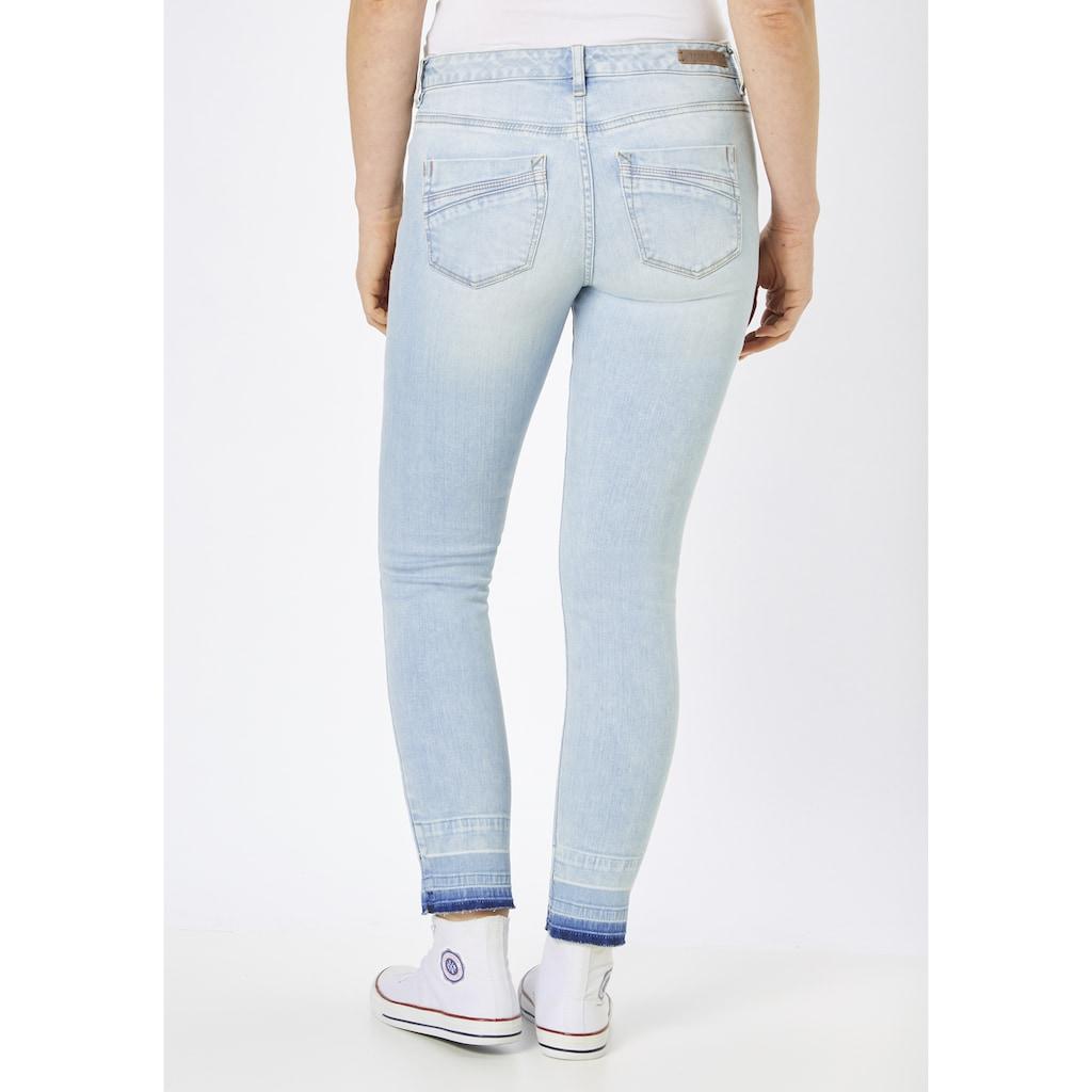 Paddock's 5-Pocket-Jeans »LUCA«, mit aufgetrenntem Saumen