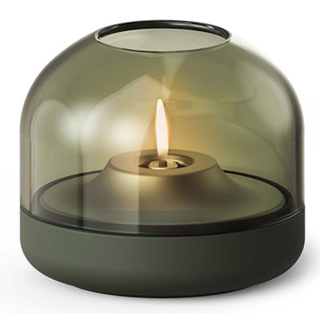 kooduu Windlicht »Glow 08«, Luxuswindlicht, aus Aluminium und Glas