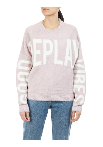 """Replay Strickpullover, """"Good Replay Vibes"""" kaufen"""