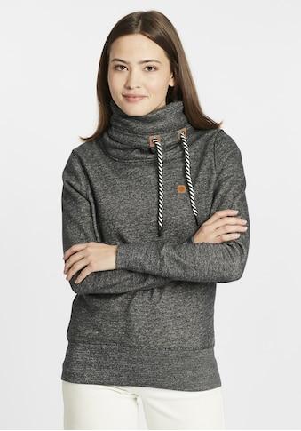 OXMO Hoodie »Cecilia«, Pullover mit Tube-Kragen kaufen