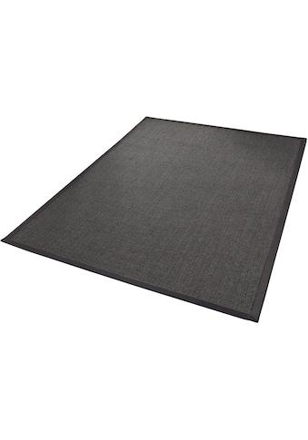 Dekowe Sisalteppich »Mara S2 mit Bordüre«, rechteckig, 5 mm Höhe, Flachgewebe, Obermaterial: 100% Sisal, Wunschmaß, Wohnzimmer kaufen