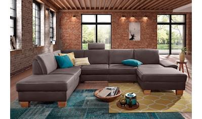 exxpo - sofa fashion Wohnlandschaft, wahlweise mit Bettfunktion und Bettkasten kaufen
