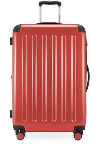 Hauptstadtkoffer Hartschalen-Trolley »Alex, 75 cm, Korall«, 4 Rollen kaufen