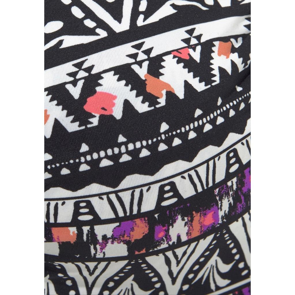 LASCANA Bügel-Bikini-Top »Belize«, im Ehtno-Design