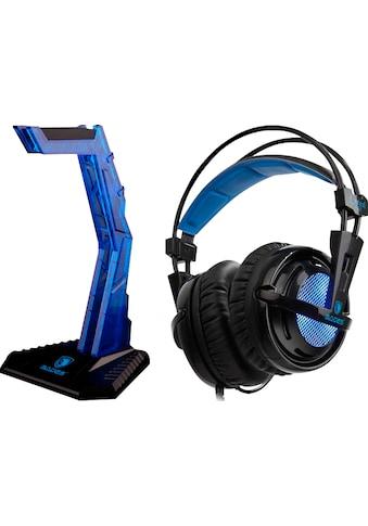 Sades Gaming-Headset »Locust Plus SA-904«, RGB-Beleuchtung kaufen