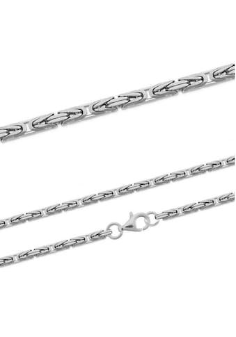 Firetti Silberkette »Königskette, glanz, rhodiniert, diamantiert, massiv« kaufen