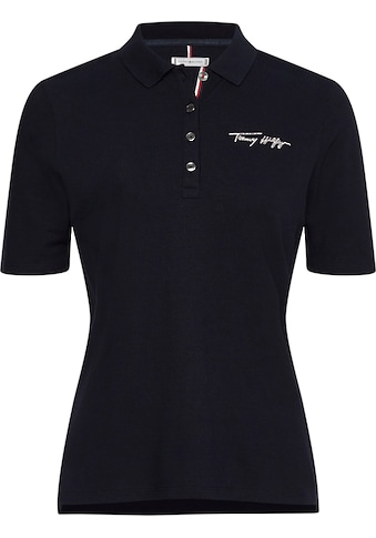 TOMMY HILFIGER Poloshirt »REGULAR TOMMY SCRIPT POLO SS« kaufen