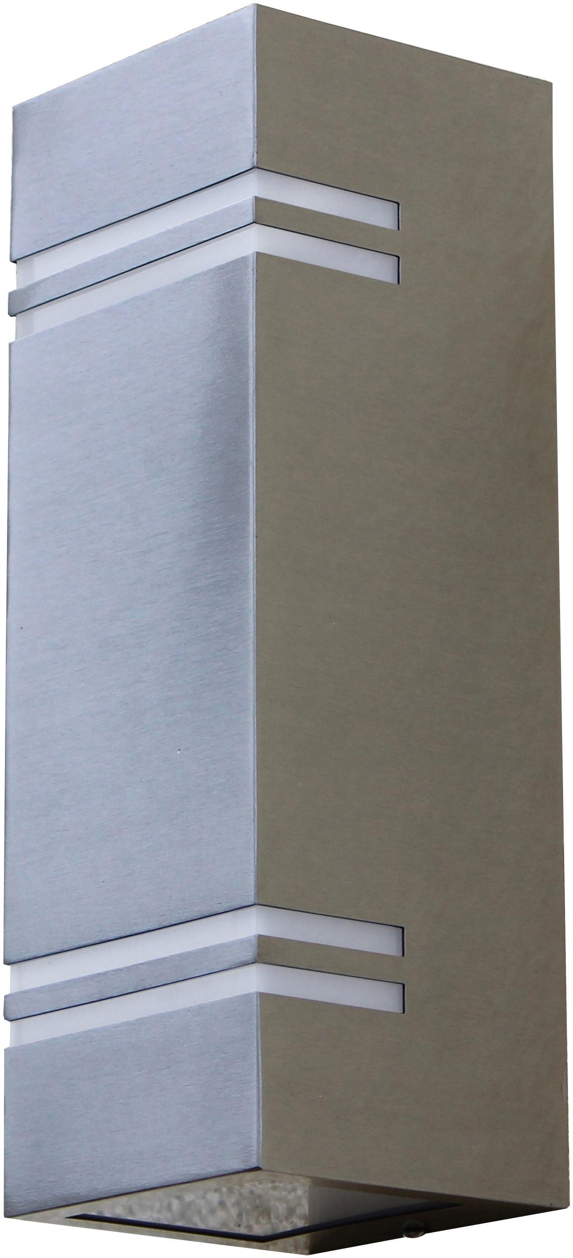LUTEC LED Außen-Wandleuchte STRIPES ST5003-2, LED-Modul, 1 St., Warmweiß
