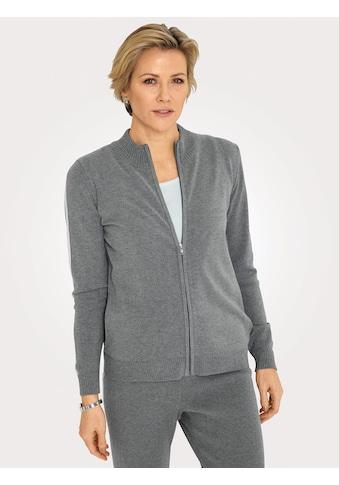 Mona Strickjacke, mit kontrastfarbenem Streifeneinsatz kaufen