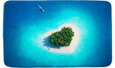 Sanilo Badematte »Dream Island«, Höhe 15 mm, schnell trocknend, Memory Schaum kaufen