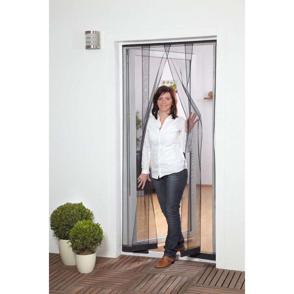 hecht international Insektenschutz-Vorhang »FILATEC«, anthrazit, BxH: 100x220 cm