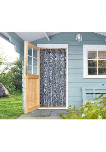EXPLORER Insektenschutz-Vorhang, weiß/blau kaufen