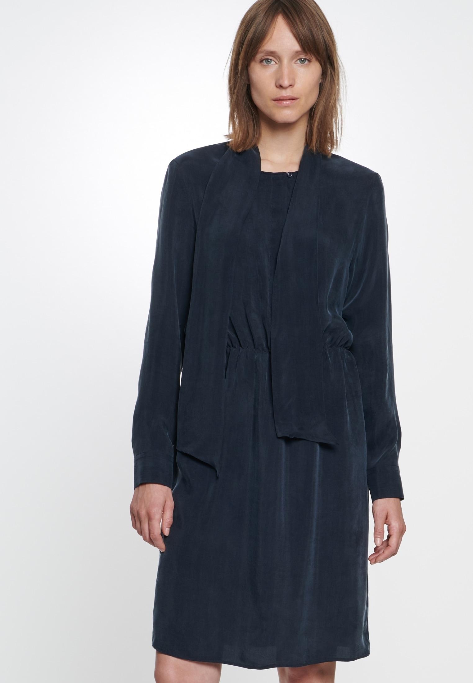 seidensticker Sommerkleid Schwarze Rose   Bekleidung > Kleider > Sommerkleider   Blau   Seidensticker