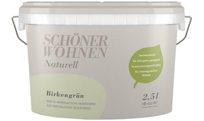 SCHÖNER WOHNEN FARBE Wand -  und Deckenfarbe »Naturell Birkengrün«, 2,5 l kaufen