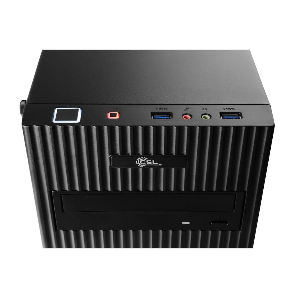 CSL Gaming-PC »Levitas T8186 Windows 10 Home«, AMD Ryzen 3 3200G | Vega 8 | 16 GB RAM | SSD