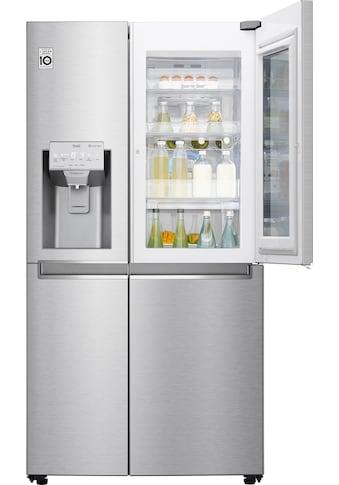 LG Side-by-Side, GSX961NEVZ, 179 cm hoch, 91,2 cm breit, Door-in-Door kaufen