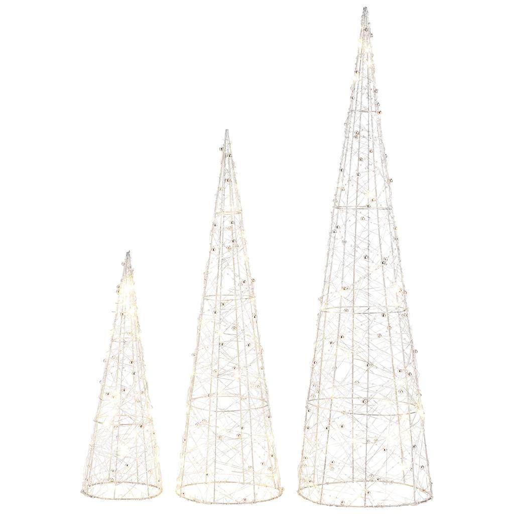LED Baum »Pyramide«, Warmweiß, mit 90 warmweißen LEDs
