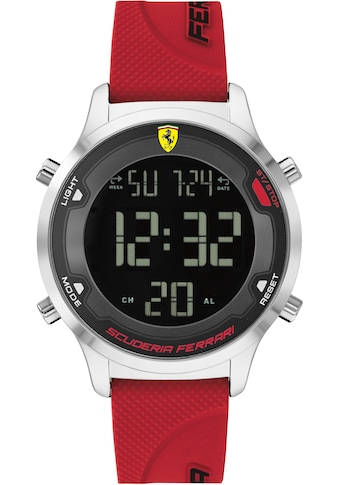 Scuderia Ferrari Digitaluhr »DIGITRACK, 830757« kaufen