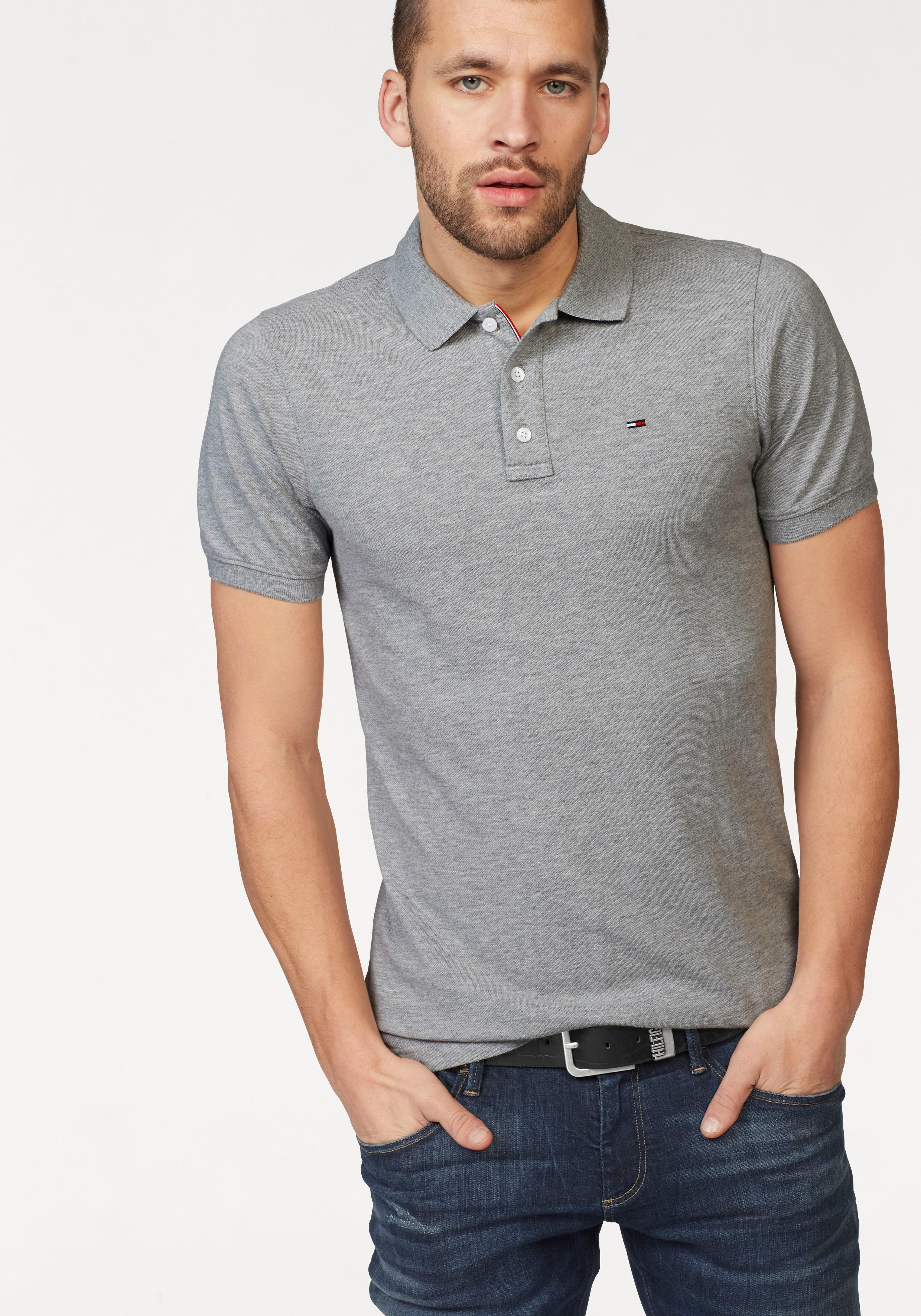 TOMMY JEANS Poloshirt TJM ORIGINAL FINE PIQUE POLO | Bekleidung > Polo Shirts | Tommy Jeans