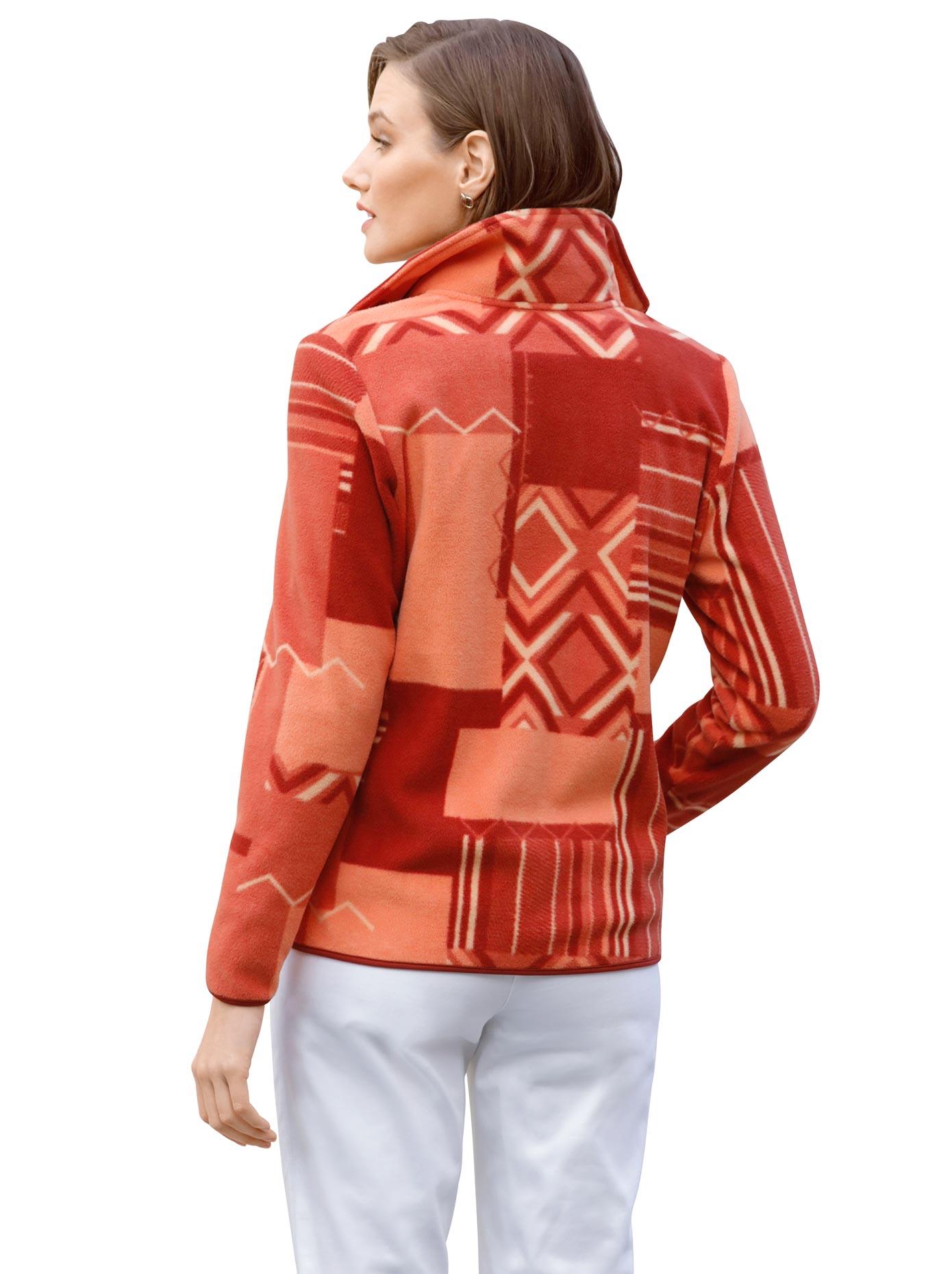 Classic Basics Fleece-Jacke mit Umlegekragen | Bekleidung > Jacken > Fleecejacken | Classic Basics