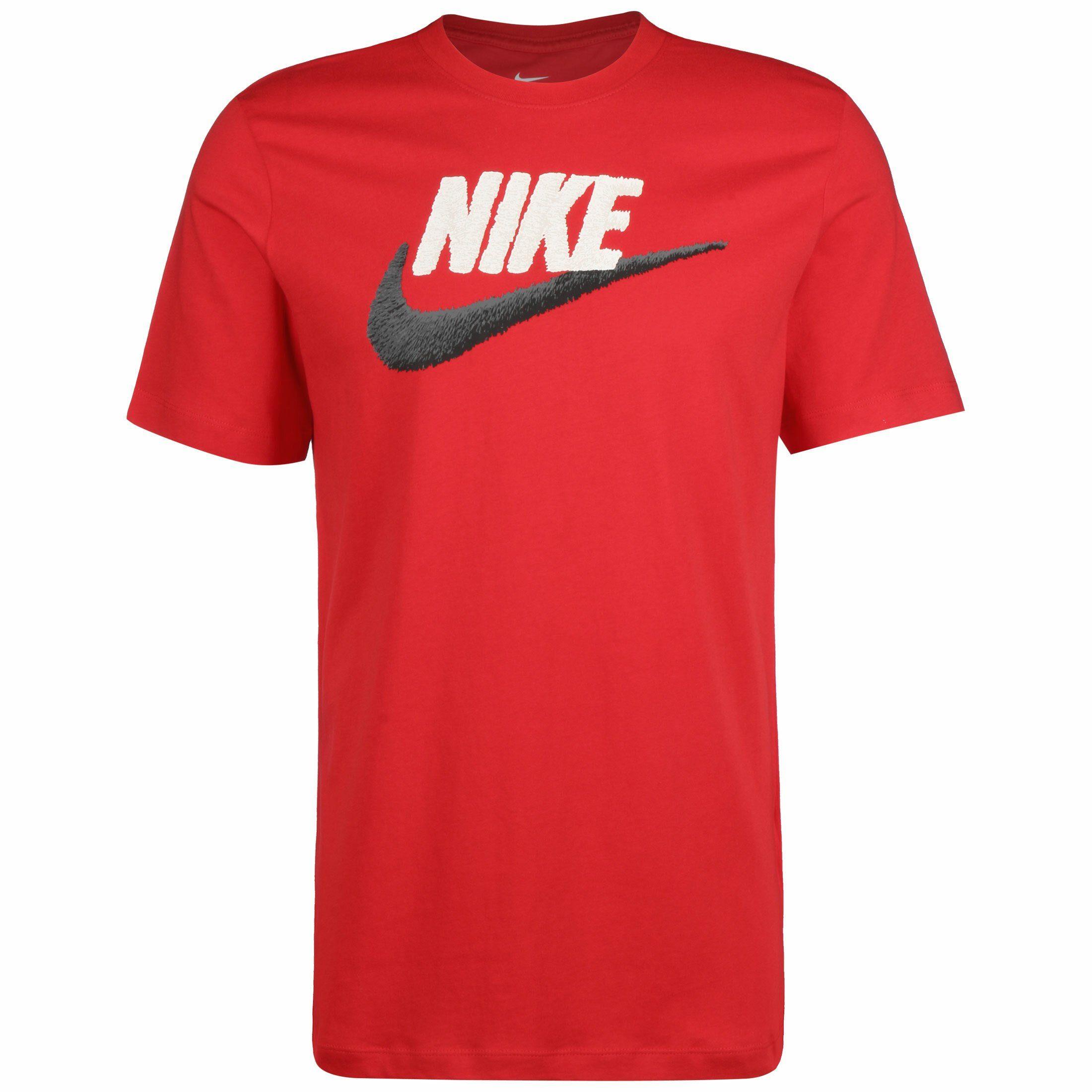 Nike Sportswear T-Shirt Brand Mark | Sportbekleidung > Sportshirts > T-Shirts | Rot | Nike Sportswear