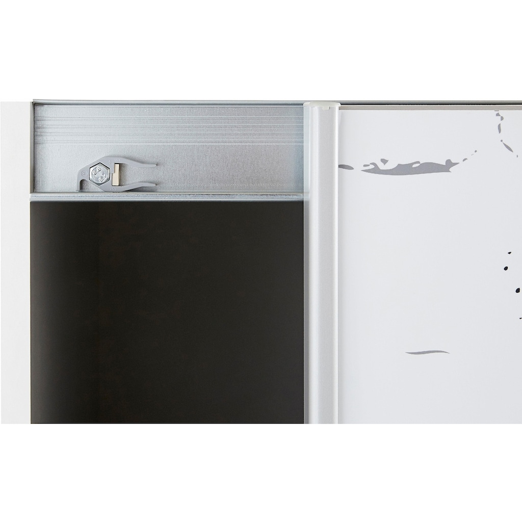 FORTE Schwebetürenschrank »Plakato«, mit Motivdruck