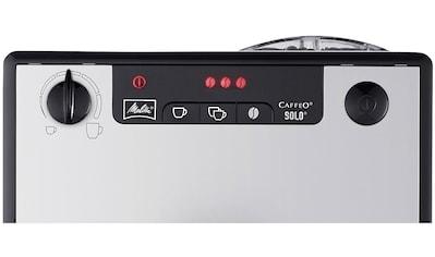 Melitta Kaffeevollautomat »Solo® Pure Silver 950-666« kaufen