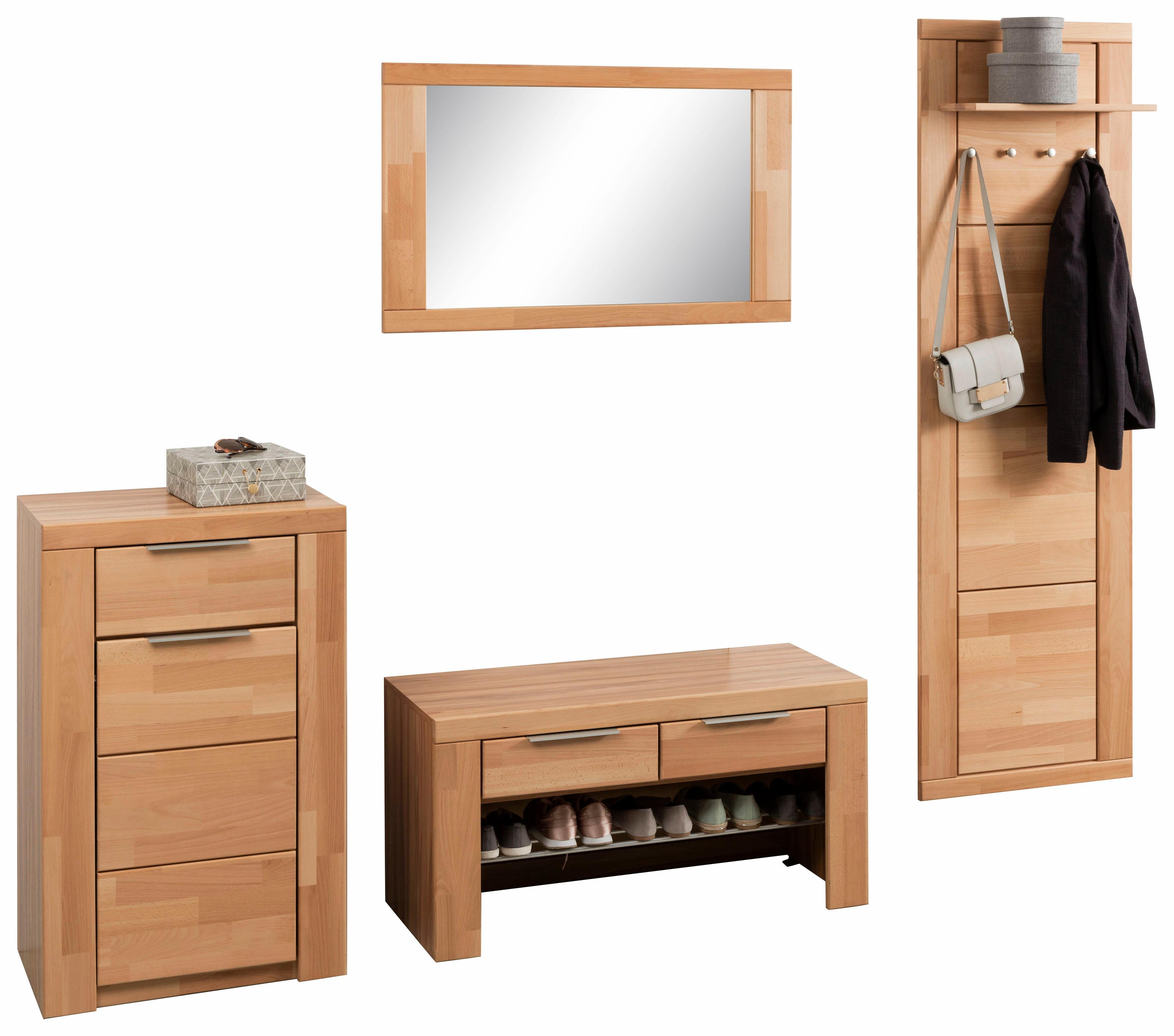 garderoben set zara set 4 tlg auf rechnung kaufen baur. Black Bedroom Furniture Sets. Home Design Ideas