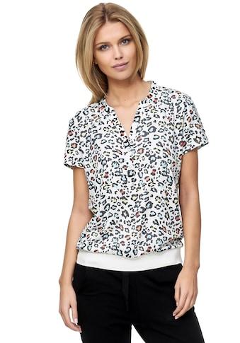Decay Klassische Bluse, mit trendigem Leoprint kaufen