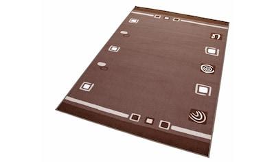 THEKO Teppich »Freising«, rechteckig, 6 mm Höhe, Kurzflor, Wohnzimmer kaufen