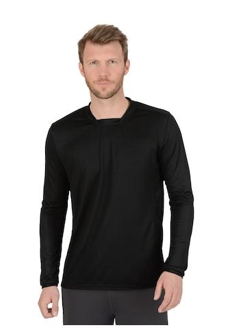 Trigema Langarm Sportshirt COOLMAX® kaufen
