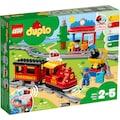 LEGO® Konstruktionsspielsteine »Dampfeisenbahn (10874), LEGO® DUPLO® Town«, (59 St.)