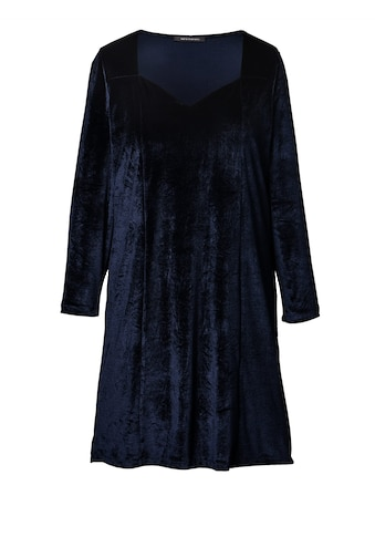 Sara Lindholm by Happy Size Samt - Kleid kaufen